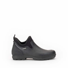 Lessfor Plus M Men's Rubber Clogs <br> Black