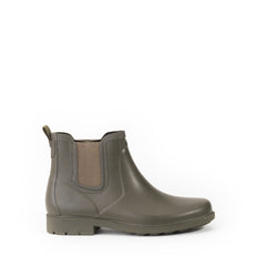 Carville Men's Rubber Ankle Boots <br> Very Kaki
