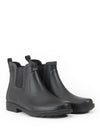 Carville Men's Rubber Ankle Boots <br> Black