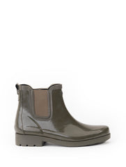Carville Rubber Ankle Boots <br> Very Kaki