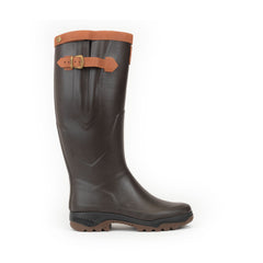 Parcours® 2 Signature Leather Lined Rubber Boots <br> Brown