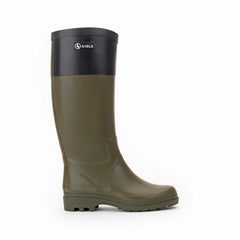 Aiglentine® Colour Block Rubber Boots <br> Khaki/Black