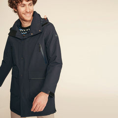 Anditu Rain Coat <br> Dark Navy