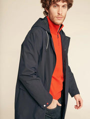Meudin Lightweight Rain Coat <br> Dark Navy