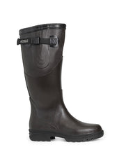 Reva Rubber Boots <br> Brown