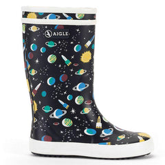 Lolly Pop Rubber Boots <br> Galaxie Print
