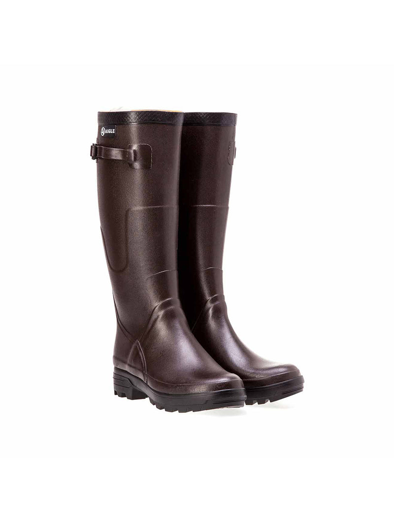 Benyl M Rubber Boots <br> Brown