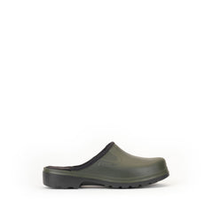 Taden M Rubber Clogs <br> Khaki/Black