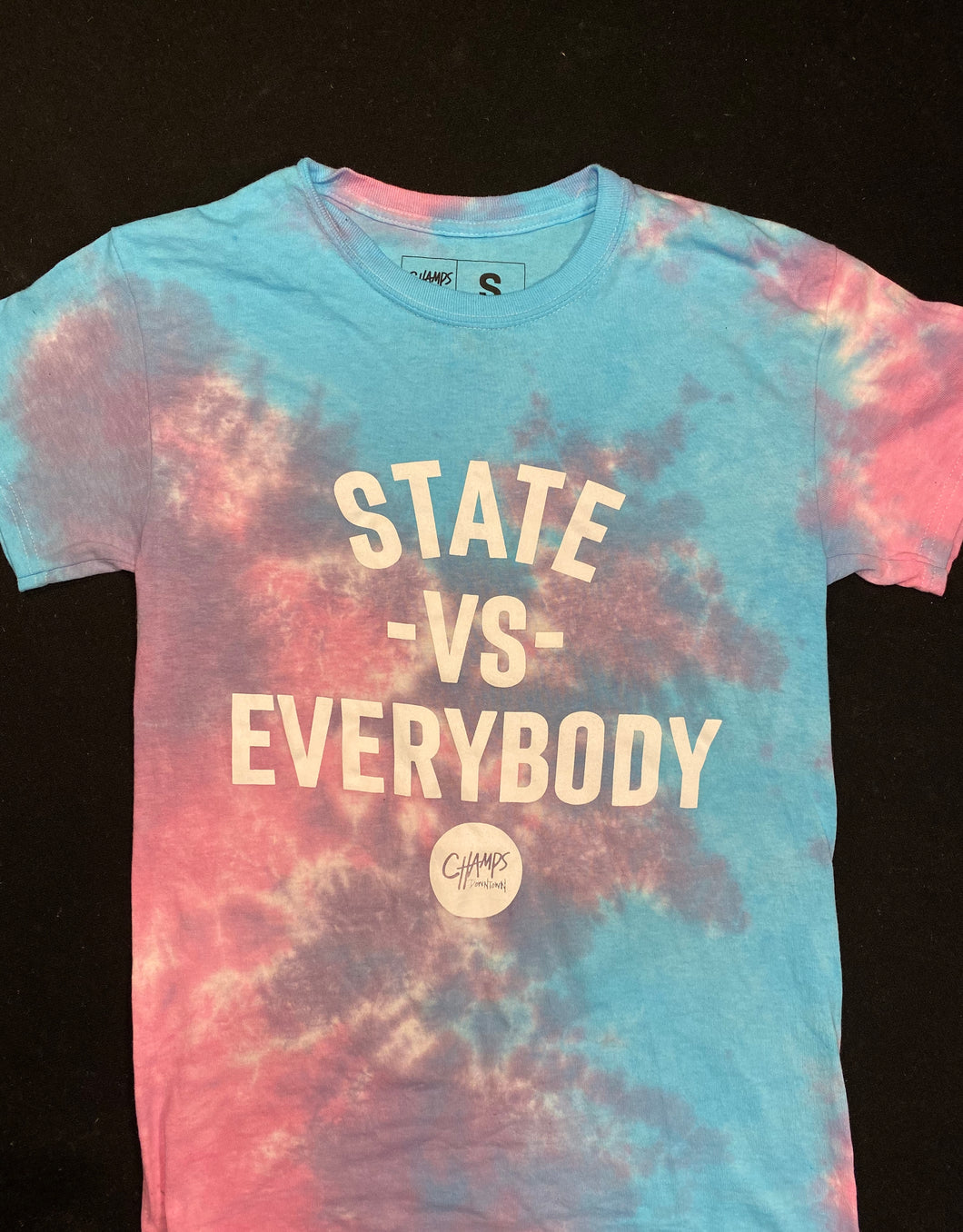 Tie Dye State vs Everybody Shirt - Short & Long Sleeve