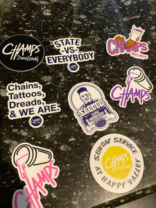 Champs Sticker Pack