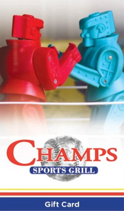 Champs Gift Card  $25/$50/$100 - ON SALE!