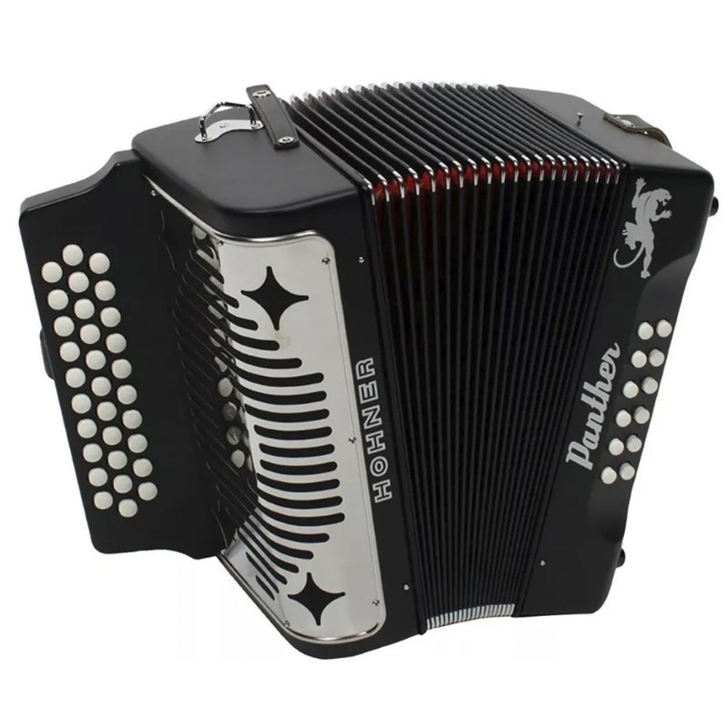 ACORDEON HOHNER A4800 PANTHER SDF NEGRO