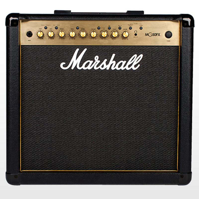 AMPLIFICADOR MARSHALL MG50GFX 50W GOLD