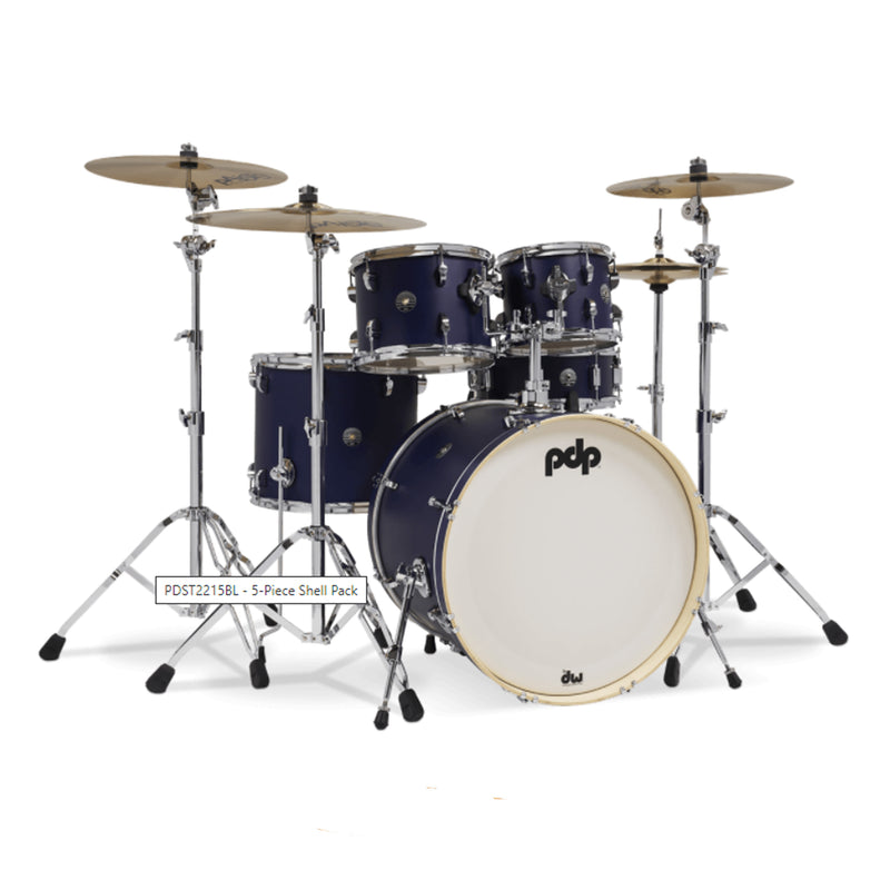 BATERIA PACIFIC PDST2215CH-BL SATIN BLUE