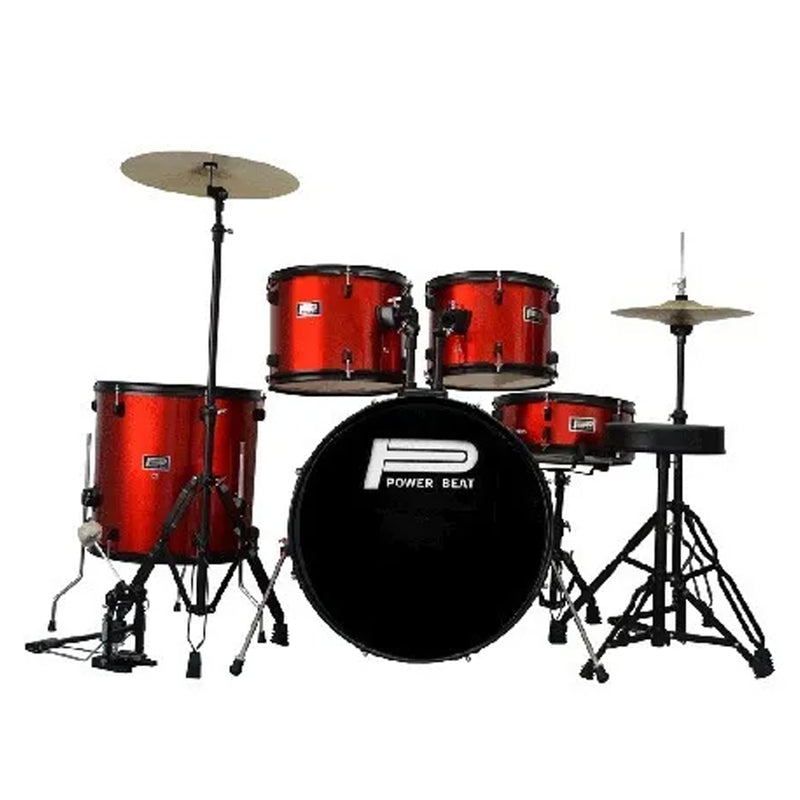 BATERIA POWER BEAT DRJ-01ARD 5PZ ROJA