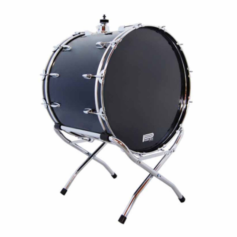 BOMBO POWER BEAT CAS-22 BK NEGRO C/ATRIL