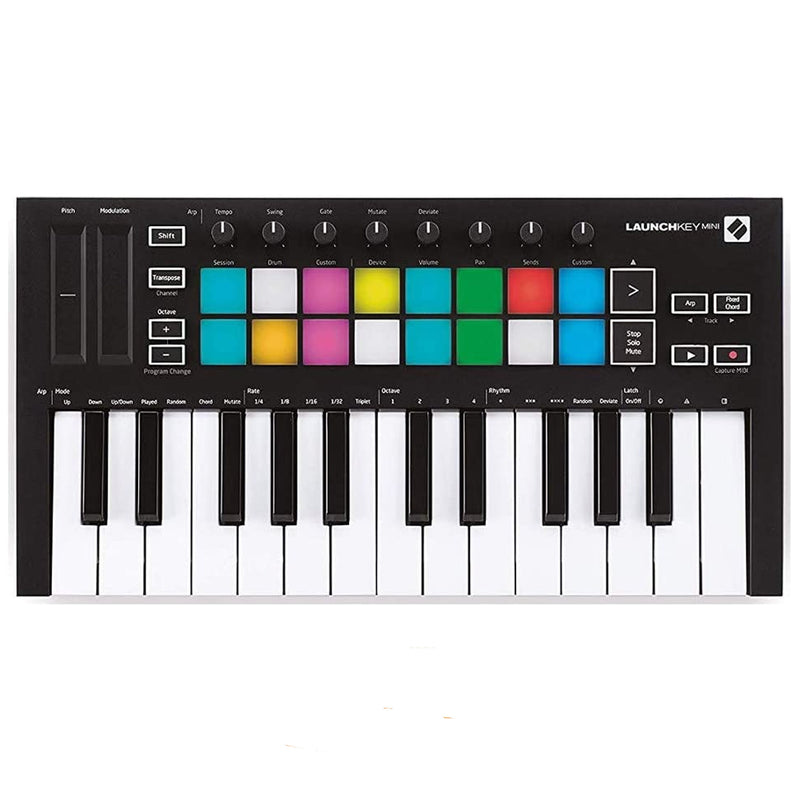 CONTROLADOR NOVATION LAUNCHKEY MINI