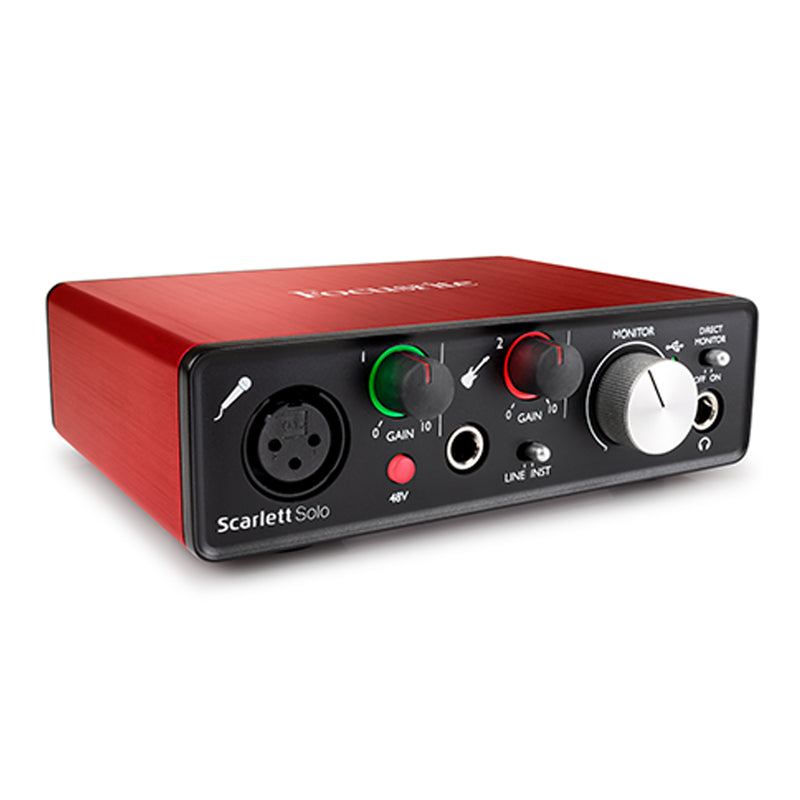 INTERFACE FOCUSRITE MOSC0019 SCARLETTSOL