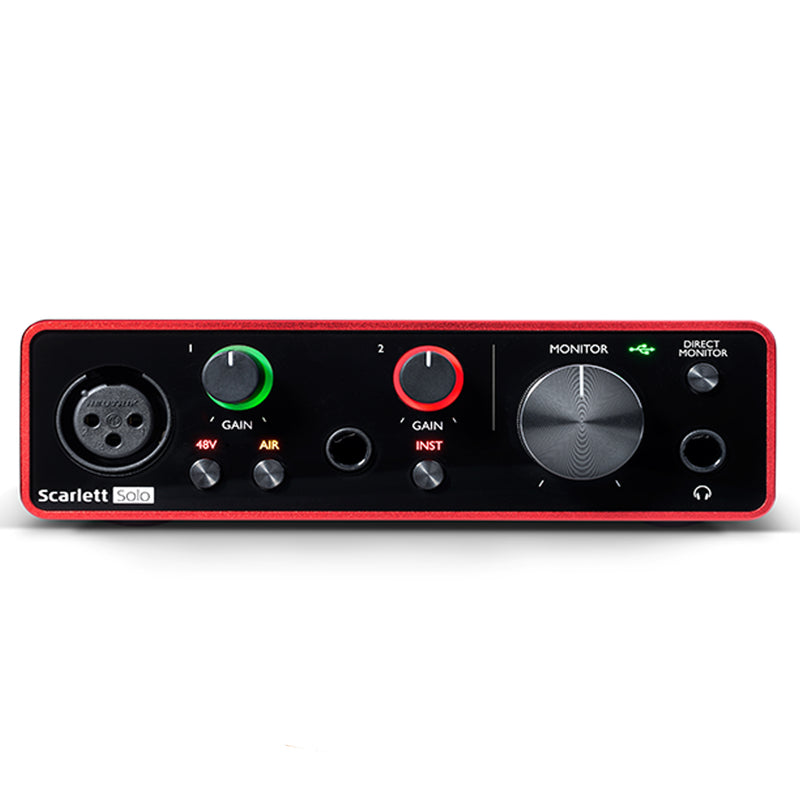 INTERFACE FOCUSRITE SCARLETT SOLO GEN 3