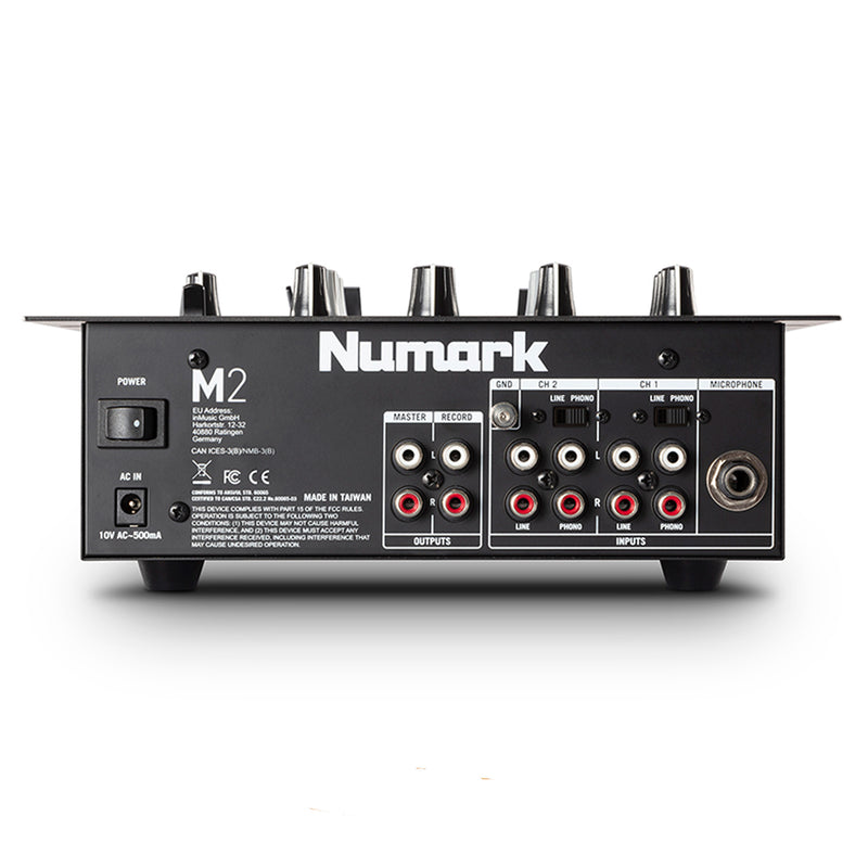 MEZCLADORA NUMARK M2 BLACK 2 CHANNEL