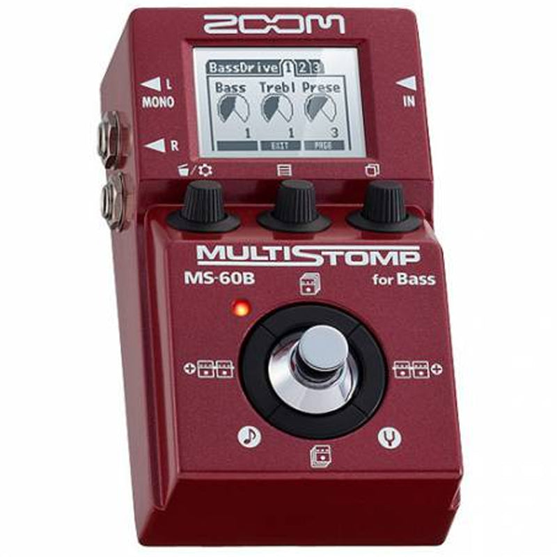 PEDAL ZOOM ZMS60B P/BAJO MULTISTOMP
