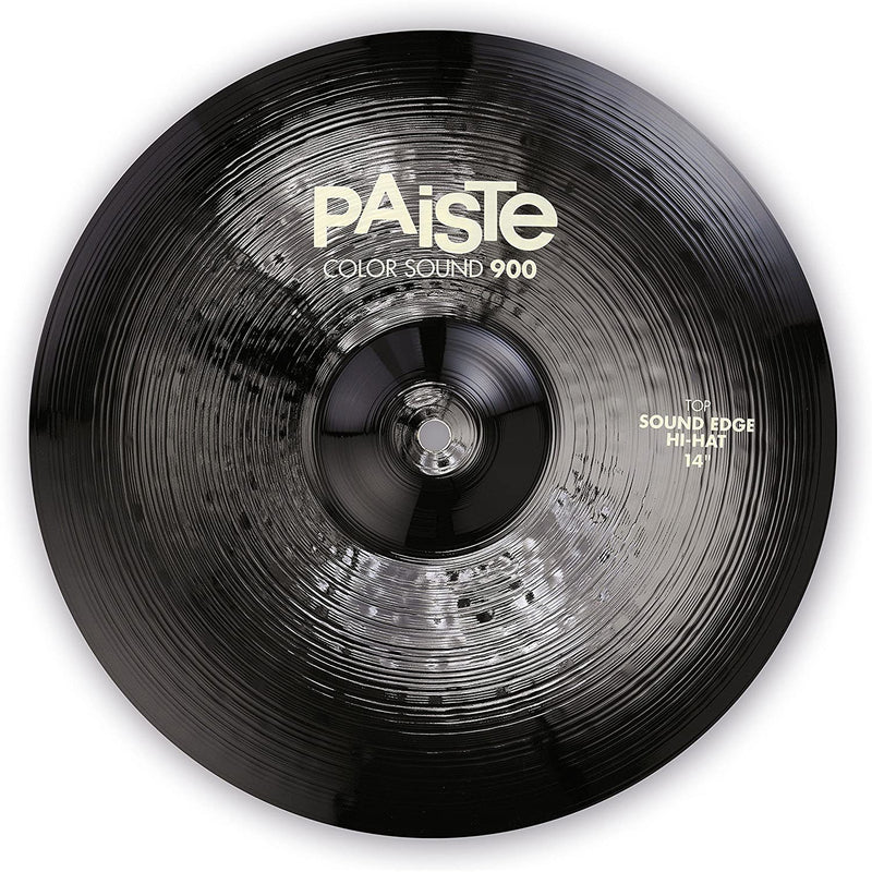 PLATILLO PAISTE 1913114 BLACK SOUND EDGE