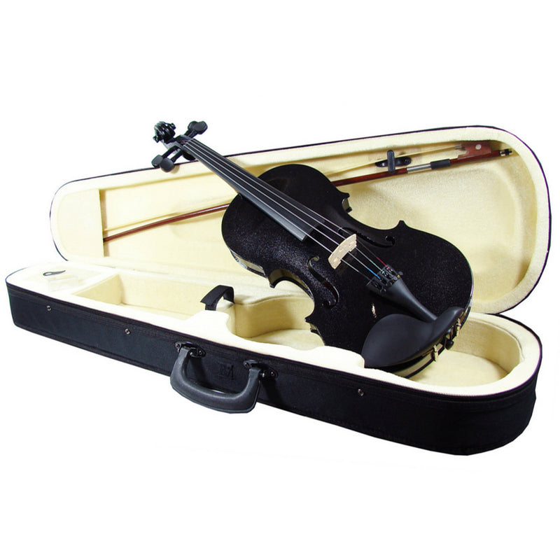 VIOLIN DISTELE V44BLACK 4/4 PLYWOOD NEGR