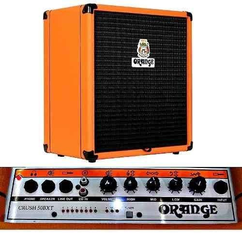 AMPLIFICADOR ORANGE CR50BXT P/BAJO ELEC.