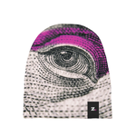 Eye See You - Pink Baby Beanie