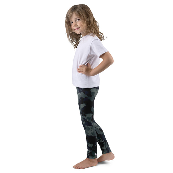 Camo Green Kid's leggings