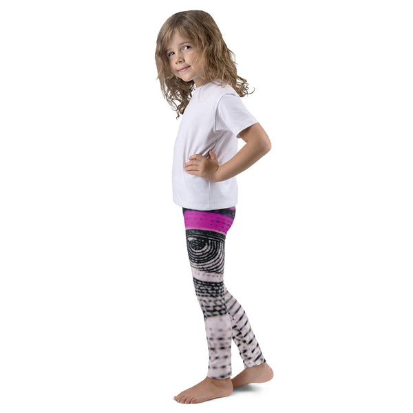 Eye See You - Pink Kid's leggings