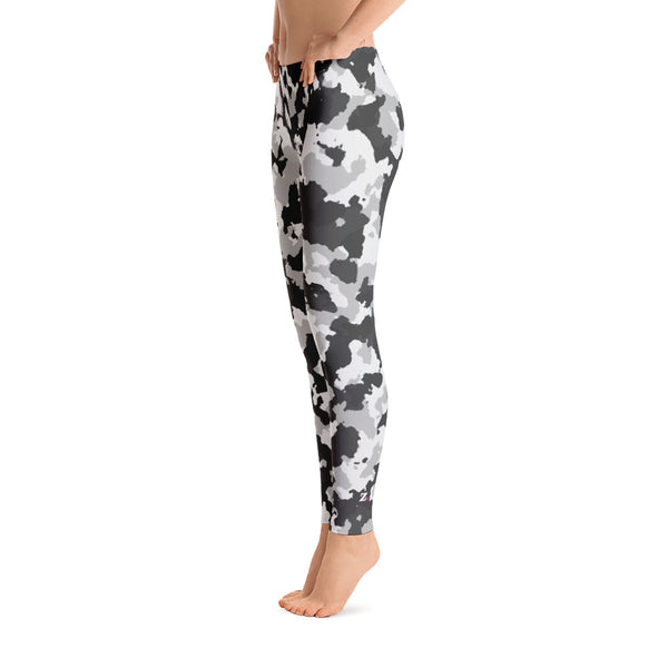 Camo White Leggings