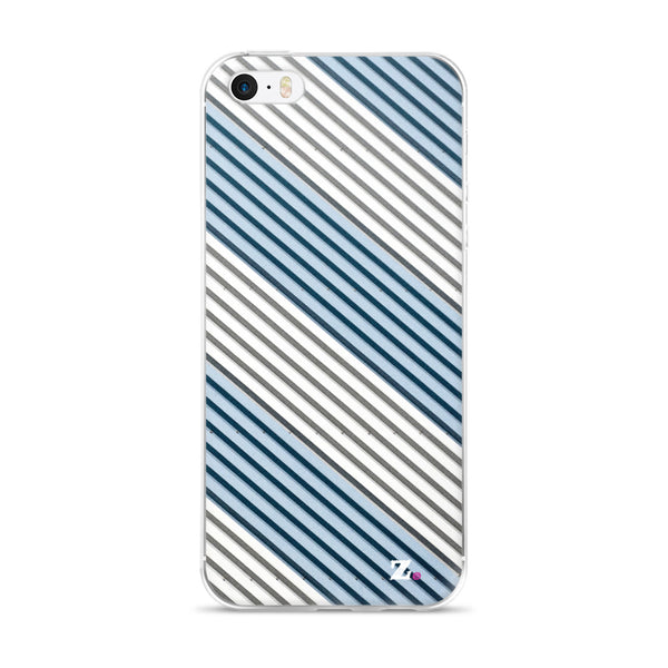 Blue Swizzle iPhone Case