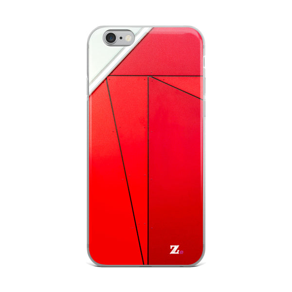 Fast Red iPhone Case
