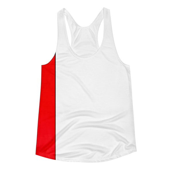 Fast Red Women's Racerback Tank