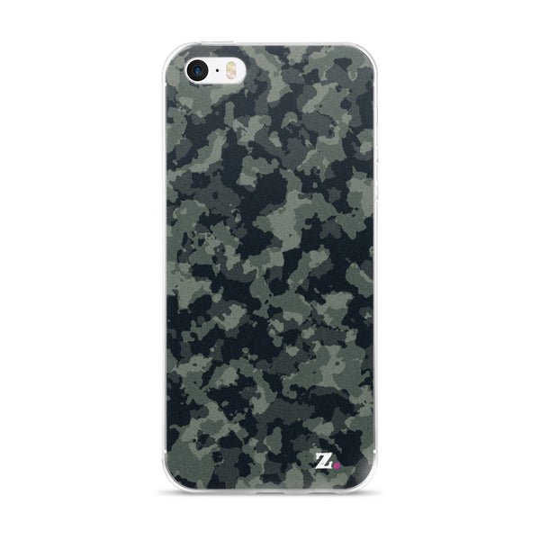 Camo Green iPhone Case