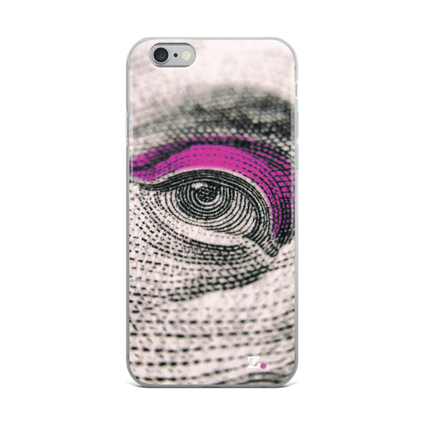 Eye See You - Pink iPhone Case