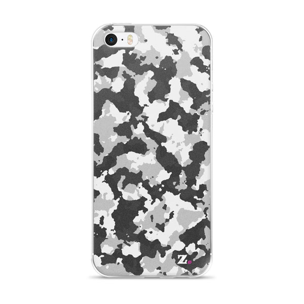 Camo White iPhone Case