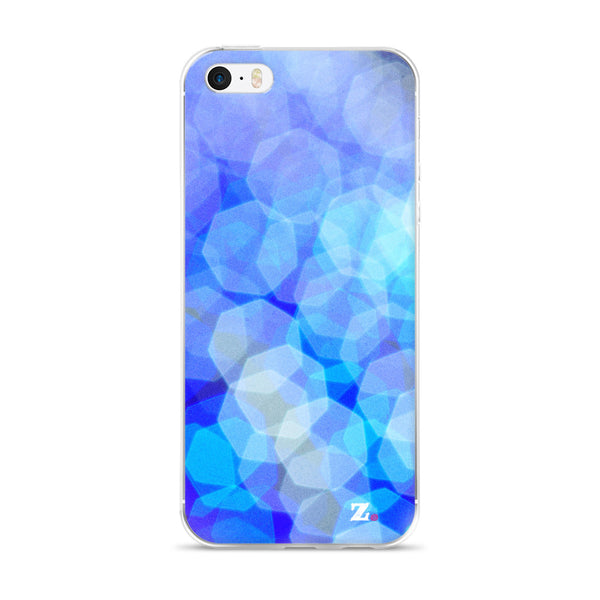 Blue Squint iPhone Case