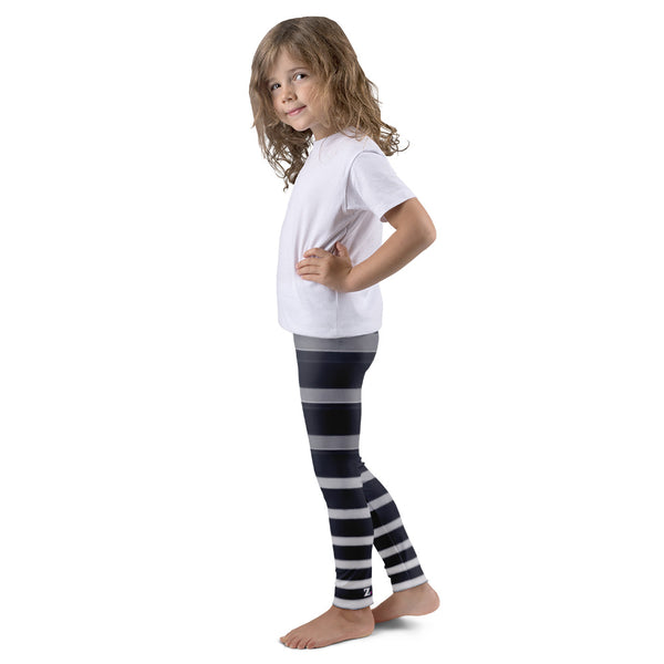 Black & White Climb Kids Leggings