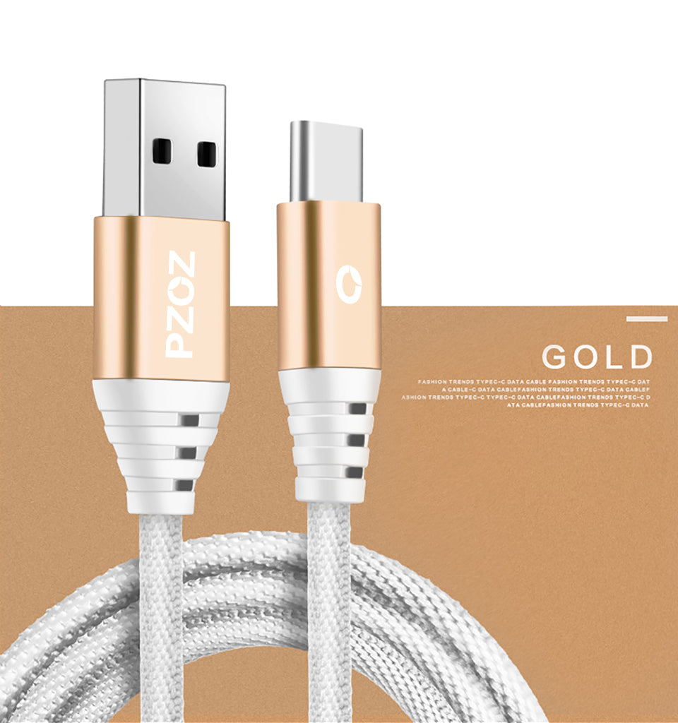 Type C USB Quick Charge Cable | 3.1 Amps – Buella
