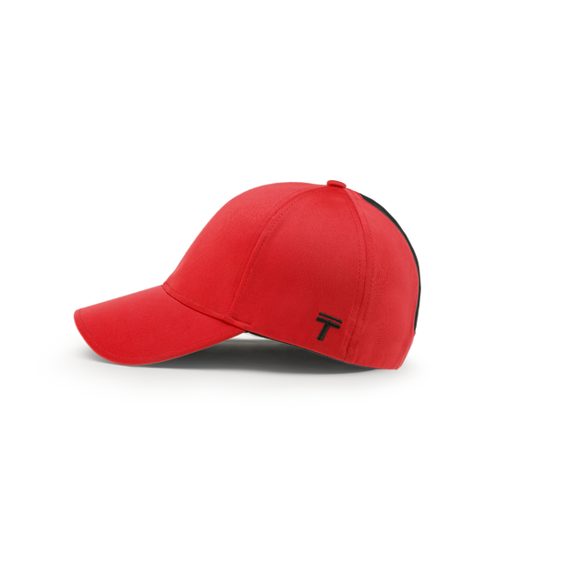 Top Knot | Red Cap | Women's and Ladies Baseball Cap
