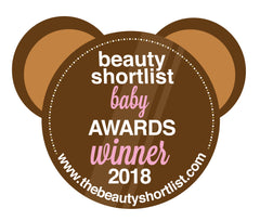 the beauty short list baby awards winner logo
