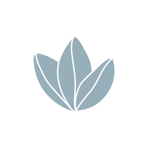 3 leaf illustration icon