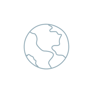 earth illustration icon