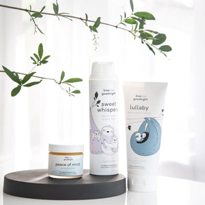 three full size product in our baby essentials bundle