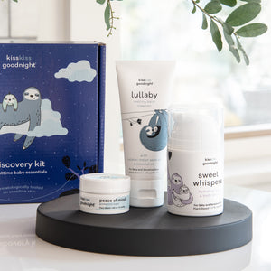 picture of discovery kit and three products