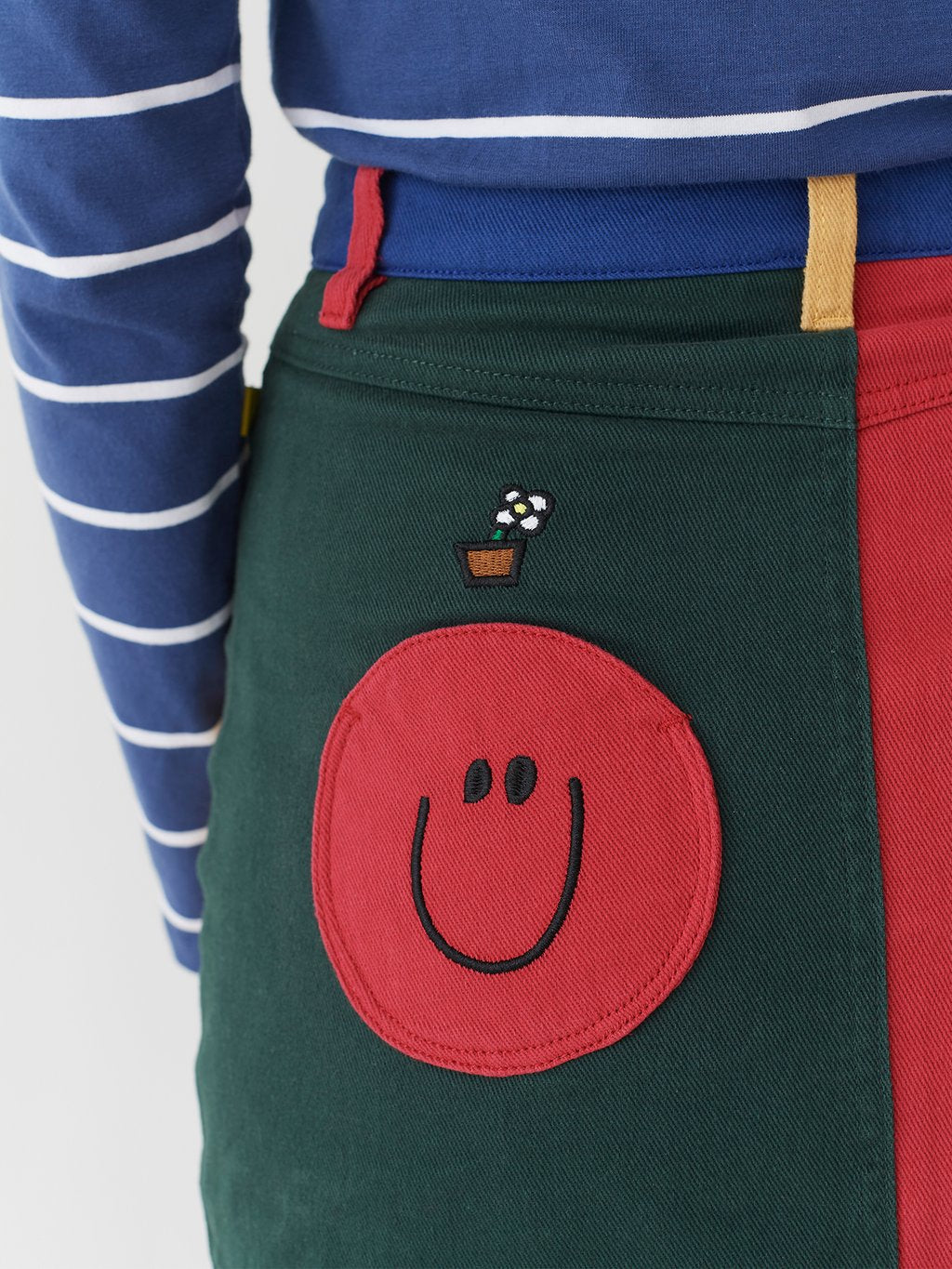 Lazy Oaf x Mr. Men Mr. Happy Mr. Wrong Skirt
