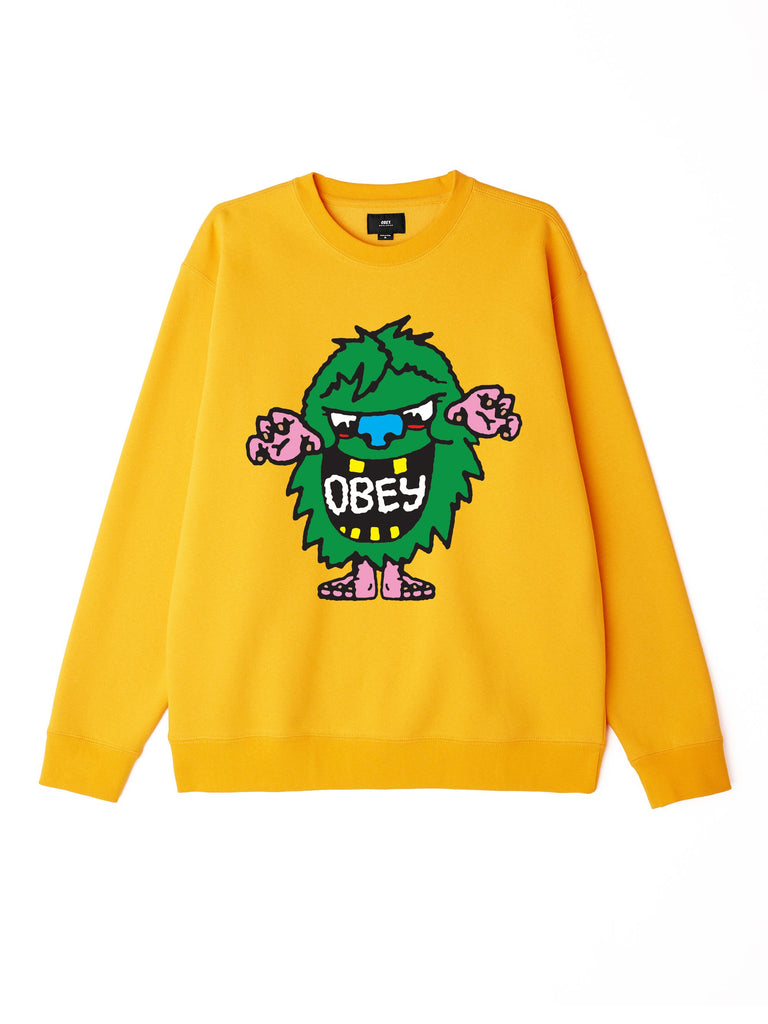Obey Creech Box Fit Crewneck