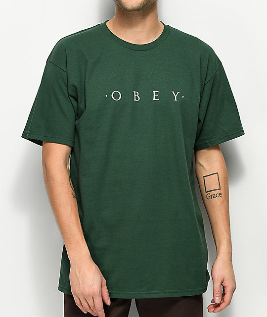 Novel OBEY Basic T-Shirt